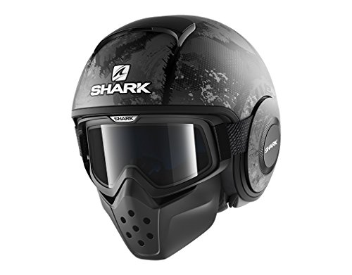 Shark Motorradhelm Hark Drak Evok Mat, Schwarz, Größe L
