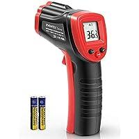 Termómetro Infrarrojo, Eventek Digital Laser IR Sin Contacto, Pistola de Temperatura, No se puede medir la fiebre, Rojo/Negro (ET300, -50°C~420°C (-58°F~788°F))【Uso no corporal】