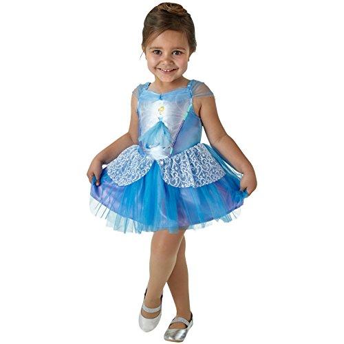 Disney Cinderella - Ballerina Disney Prinzessin Kostüm Kinder Mädchen Rubies