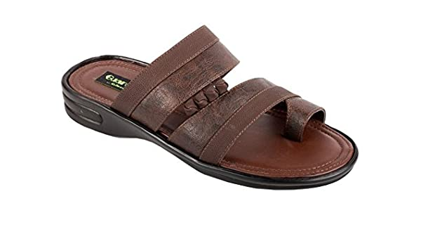 2f7bae3a78c1 La Guardian Faux Leather Brown Sandals