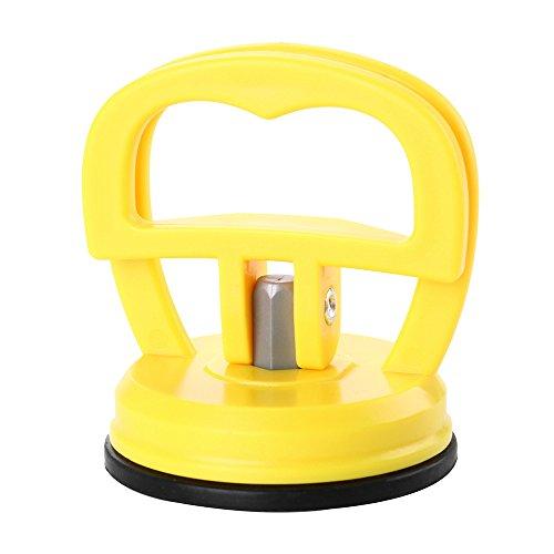 Colorful Saugheber Vakuumsauger,Dent Abzieher Auto Dent Saugnapf Auto Body Dent Abzieher Ausbau Werkzeug (Gelb)