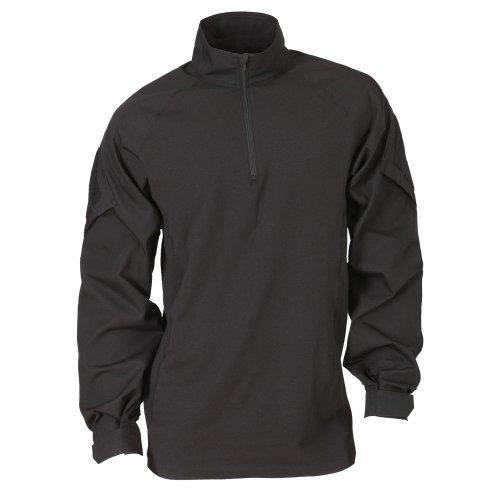5.11Herren TDU Rapid Assault Shirt Long Sleeve Medium schwarz (Tactical Herren-uniform 5.11)