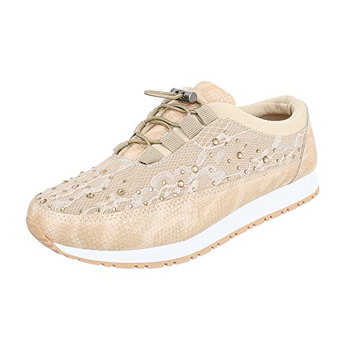 Ital-Design - Low-top Donna , bianco (bianco), 40
