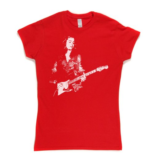 Tommy Bolin Womens Fitted T-Shirt Rot