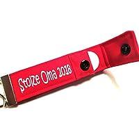 Oma Geschenk zur Geburt Enkel / Enkelkind: Schlüsselanhänger / Schlüsselband