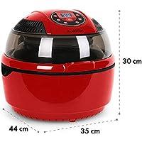 Klarstein VitAir • Freidora de aire caliente • Freidora sin aceite • Asar • Cocer • Placa Halógena • Antiadherente • Capacidad 9L • Potencia 1400W ...