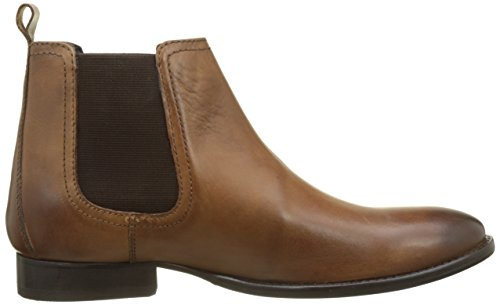 Base London Holton, Bottines Chelsea Homme Beige (Tan Burnished)