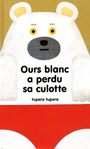 Ours blanc a perdu sa culotte