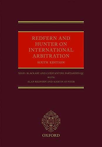 Redfern and Hunter on International Arbitration (English Edition)
