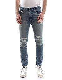 Levi's Hombre 501 flacos Bad Boy Jeans, Azul