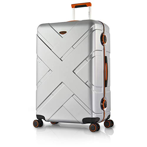 Eminent, Koffer Silber Silber/Orange L (77cm - 103L)
