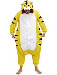 Feroz tigre Kigurumi disfraz (todas las edades)