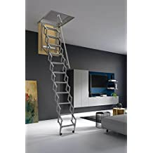 Mister Step Escalera Escamoteable Para Buhardillas ADJ (80 X 45 Cm.)