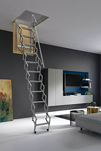 Mister Step Escalera escamoteable para buhardillas ADJ (120 x 70 cm.)