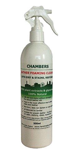 chambers-detergente-naturale-per-pellame-genera-schiumaper-sofa-sedili-auto-stivali-ecc-500-ml