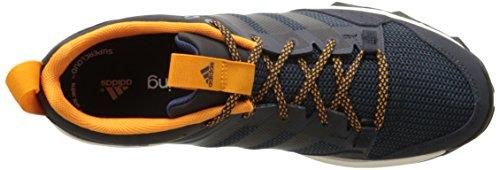 Adidas Outdoor Kanadia 7 Trail Running Shoe - Midnight Indigo / craie blanche / jaune solaire 6.5 Night Navy/Black/Orange