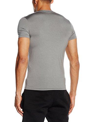 HOM Herren Unterhemd Modal Sensation Shirt 03 Grau (Grau)