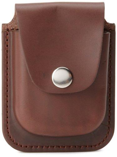 Charles-Hubert 2C Paris Charles-Hubert, Paris 3572-5 Brown Leather 56mm Pocket Watch Holder