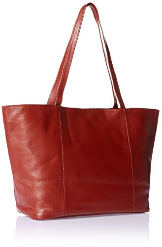 Piel Leather Tote, Noir, Taille rouge