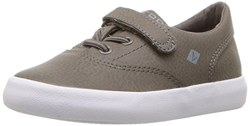 Sperry Boys' Wahoo Jr Sneaker, Truffle Leather, 11 Medium US Little Kid - Sperries Jungen