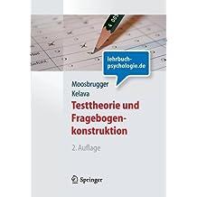 Testtheorie und Fragebogenkonstruktion (Springer-Lehrbuch)