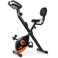Klarfit X-BIKE-700 • Ergometer • Home Trainer • Fitness Bicycle • Cardio Bike • Training Computer • Hand Pulse Meter • 8-step Adjustable Resistance • Ergonomic Saddle • max. 100kg • var. colours