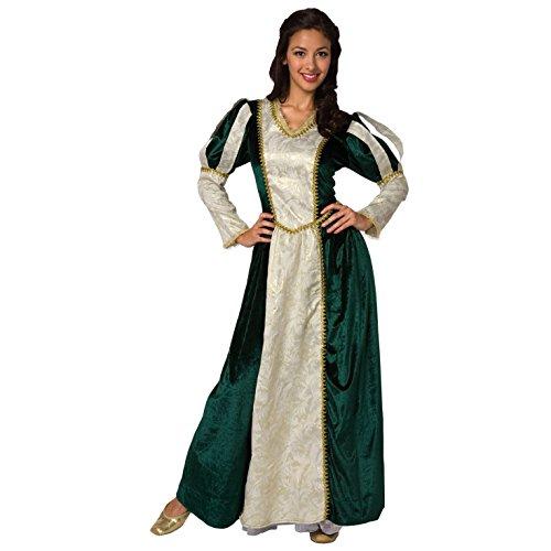 Mittelalterliche Frauen Königin Kostüm Renaissance Prinzessin Kleid für Damen Kleid - Mittel