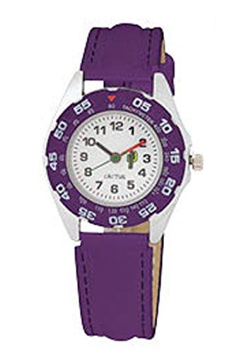 Cactus Kinder-Armbanduhr Analog plastik violett CAC-57-M09