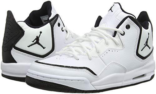 official photos db1cf 1d899 Nike Jordan Courtside 23 (GS), Scarpe da Basket Bambino, Bianco (White  Black 100), 38.5 EU. Visualizza le immagini