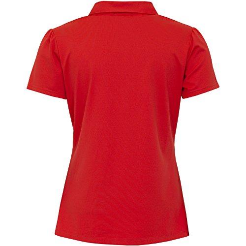 Green Lamb - T-shirt de sport - Femme blanc/rouge