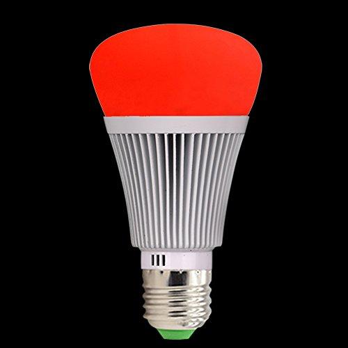 Molie Smart Lampe 7W RGB Glühbirne Led Wifi Lampen Dimmbar E27 Wlan Lampe mit Amazon Alexa,Google Home,Steuerbar via App - 8