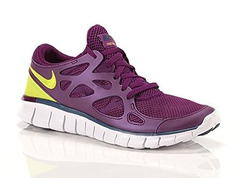 Nike Wmns Free Run 2 Ext 536746-502 Damen Lila Laufschuhe , Schuhgröße:EUR 36.5