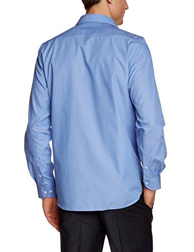 Daniel Hechter Camicia Uomo Blu (Blau (Navy 60))