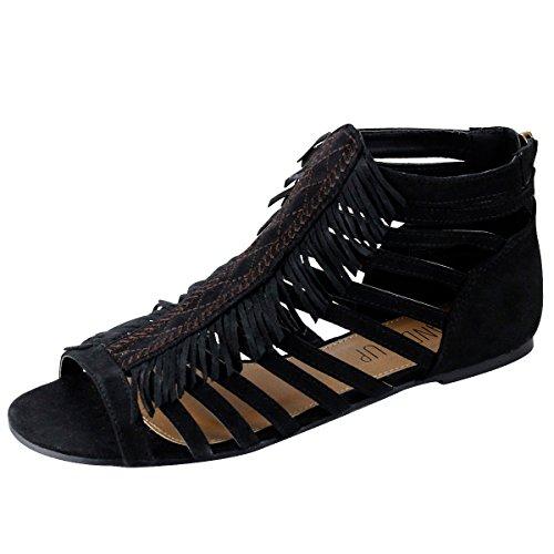 sandalup-small-tassel-womens-sandals-black-6-uk