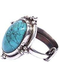 ec1d7609c9bb09 Sangeeta Boochra Silver Oxidised Handcrafted Ring