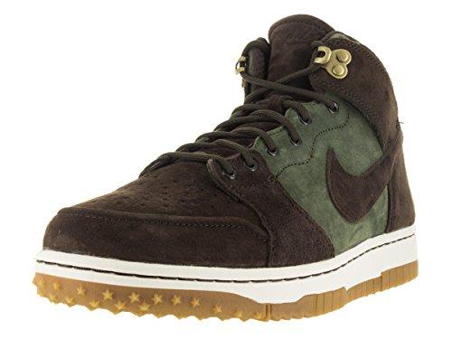 Nike Dunk Cmft Wb, espadrilles de basket-ball homme Marron / vert (vert olive armée / marron baroque - voile - gomme, marron clair)