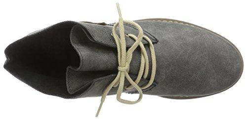 Rieker Z4132 Damen Kurzschaft Stiefel Grau (anthrazit/mogano / 45)