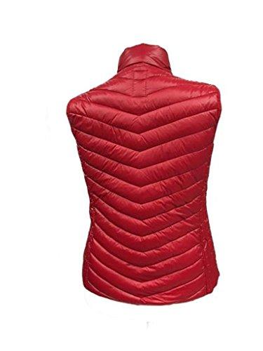 Frandsen leichte Steppweste verschiedene Farben Rot