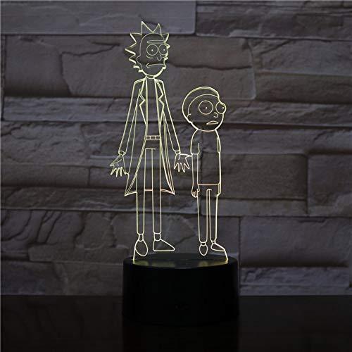 3D Led Veilleuse Pac Man Multicolore Lumières Décoratives Garçons Enfant Enfants Bébé Cadeaux Jeu Pacman Lampe De Table De Chevet Néon