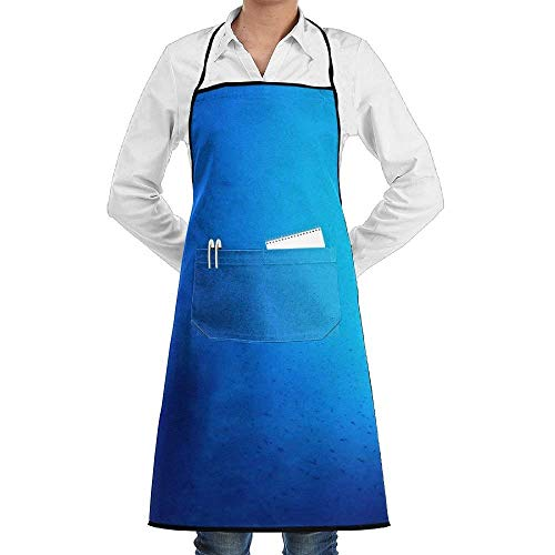 tgyew Vibrant Light Unisex Chef's Apron Deluxe Personalities Aprons (White Christmas Lights Bulk)