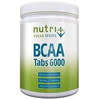 BCAA Tabletten 2:1:1 vegan - 360 Mega Tabs à 1000mg - hochdosiert - essentielle Aminosäuren - BCAAs ohne Magnesiumstearat... preisvergleich bei fajdalomcsillapitas.eu
