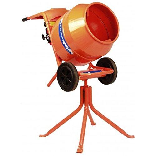 HORMIGONERA PROFESIONAL MINIMIX 150 | CUBA 150 litros | Carretillo y tripode incluido