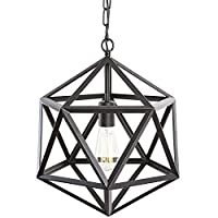 Geometric Vintage Diamond Industrial Iron Chandelier light