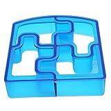 HENGSONG DIY Sandwich Form Keks Ausstecher Ausstechformen Toast Brot Cookie Cutter (Puzzle)