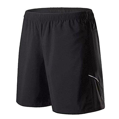 FELiCON Mens Sports Shorts, Running Shorts para Hombres con Bolsillo de Cremallera, Secado rápido y Transpirable para Correr Fitness Workout Gym