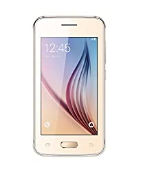 Karbonn K85 Ultra (Gold) - 4 Touch Screen Dual SIM Feature Mobile Phone With Multi Language, 1200 mAH Battery, 2 MP Camera At Lowest Price