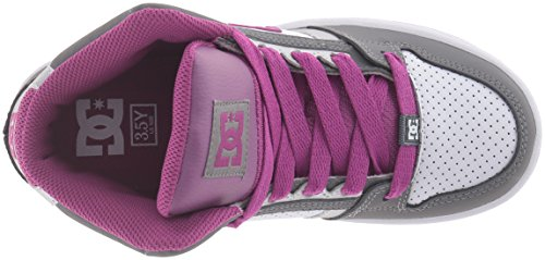 DC Shoes Rebound, Baskets mode garçon Lt Grey/Purple