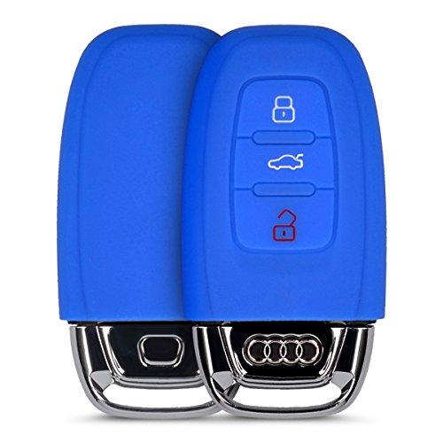 kwmobile-custodia-in-silicone-per-audi-3-tasten-autoschlussel-keyless-chiavi-cover-protettiva-astucc