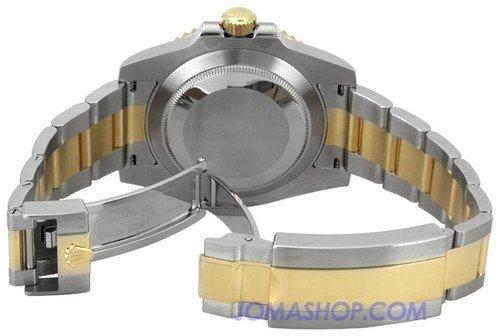 Rolex 116613BKSO Submariner Armband Auster Index Schwarz Rolex ?zle Mens Wahlschalter -