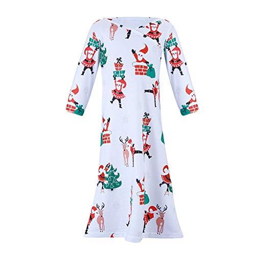 Cuteelf Weihnachten Neu Print Happy Party Zuhause Eltern Set Pyjamas Familie passenden Weihnachtsbaum Pyjamas Set Tops + Pants Cute Comfort Holiday Set